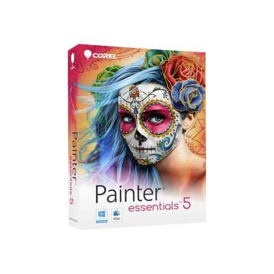 Corel PE5EFAMMB Painter Essentials - (v. 5) - box pack - 1 user - DVD (mini-box) - Win  Mac - English  French