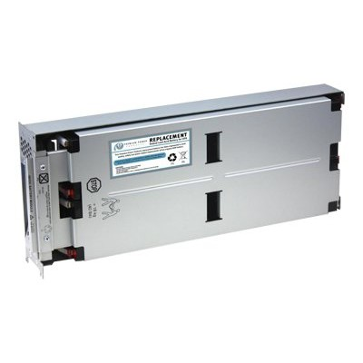 eReplacements SLA43-KIT RBC43-SLA43-KIT - UPS battery - 1 x lead acid - for P/N: SMT2200RMI2U  SMT2200RMUS  SMT3000RM2U  SMT3000RMI2U  SMT3000RMT2U  SMT3000RMUS