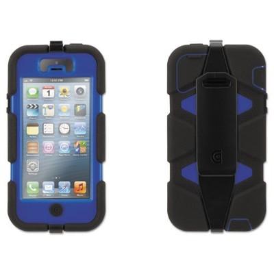 Griffin GB39734-2 Survivor Case for iPhone 5/5s - Blue/Black