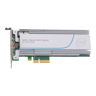 Intel SSDPEDMX400G401 Solid-State Drive DC P3500 Series - Solid state drive - 400 GB - internal - PCI Express 3.0 x4 (NVMe)