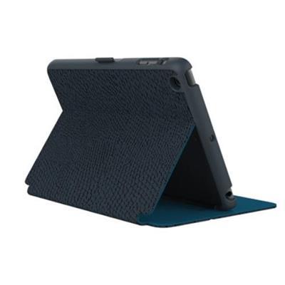 Speck Products SPK-A3348 StyleFolio Case for iPad mini 3 (also fits mini 2 and mini) - RattleSkin Dark Grey/Tahoe Blue