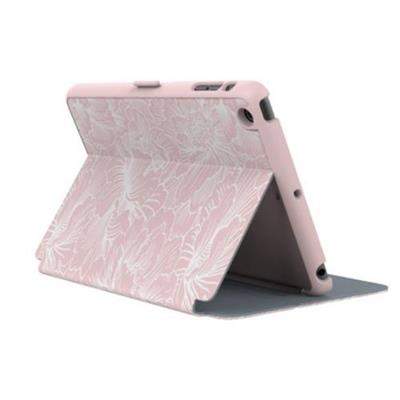 Speck Products SPK-A3349 StyleFolio Case for iPad mini 3 (also fits mini 2 and mini) - FreshFloral Pink/Nickel Grey