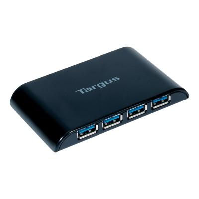 Targus ACH124US USB 3.0 4-Port Hub - Hub - 4 x SuperSpeed USB 3.0 - desktop