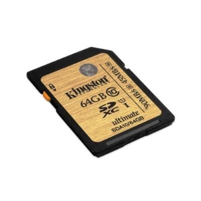 Kingston SDA10/256GB 256GB SDXC Class 10 UHS-I 90R/45W Flash Card