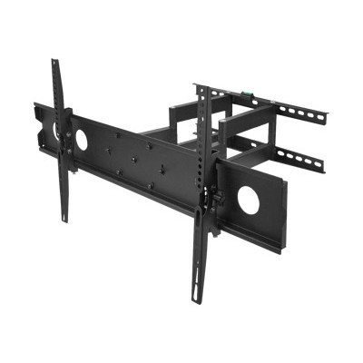 SIIG CE-MT1F12-S1 CE-MT1F12-S1 - Wall mount for LCD / plasma panel - steel - black powder coat - screen size: 42-80