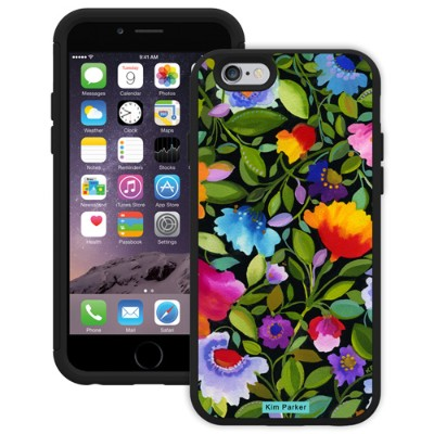 Trident Case AG-API647-BK029 Trident Aegis Series Kim Parker Aegis - Back cover for cell phone - polycarbonate - black  India Garden - for Apple iPhone 6
