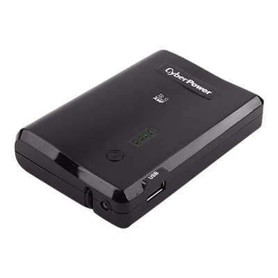 Cyberpower CPBC10400 CPBC10400 - Power bank Li-Ion 10400 mAh - 3.1 A (USB (power only)  Micro-USB Type B (power only)) 13342889
