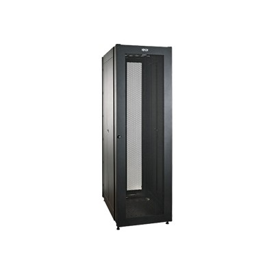 TrippLite SR2000 42U Value Series Rack Enclosure Cabinet with Doors & Side Panels 2000lb Capacity