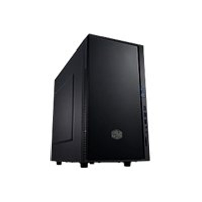 Cooler Master SIL-352M-KKN1 Silencio 352 - Mid tower - mini ITX / micro ATX - no power supply (ATX / PS/2) - midnight black - USB/Audio