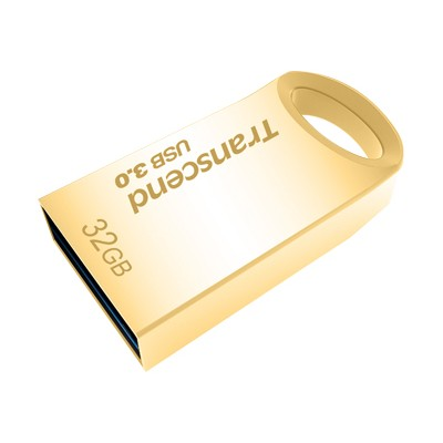 Transcend TS32GJF710G JetFlash 710 - USB flash drive - 32 GB - USB 3.1 - gold