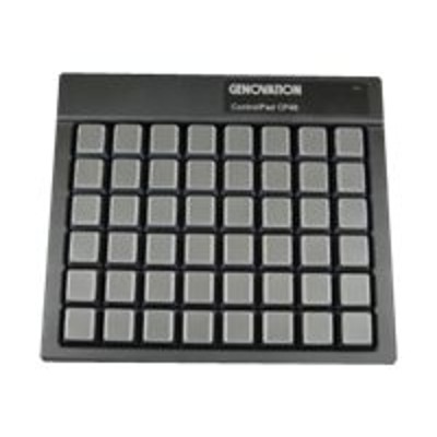 Genovation CP48-USBHID Controlpad CP48 - Keypad - USB - black
