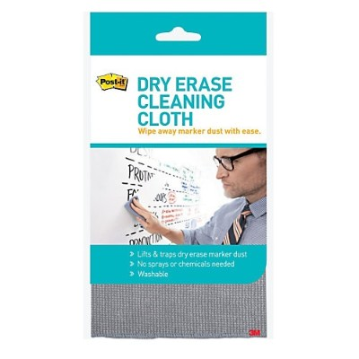 3M DEFCLOTH Dry Erase Cleaning Cloth  10.6 in x 10.6 in