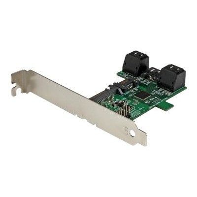 StarTech.com ST521PMINT Port multiplier controller card - 5-port SATA to single SATA III - Expansion slot mounted 1:5 SATA Port multiplier