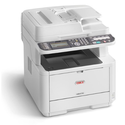 Oki 62444801 MB 472dnw - Multifunction printer - B/W - LED - A4 (210 x 297 mm) (original) - A4 (media) - up to 33 ppm (copying) - up to 33 ppm (printing) - 350