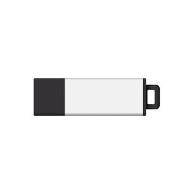 Centon S1-U2T4-16G Pro2 - USB flash drive - 16 GB - USB 2.0 - white