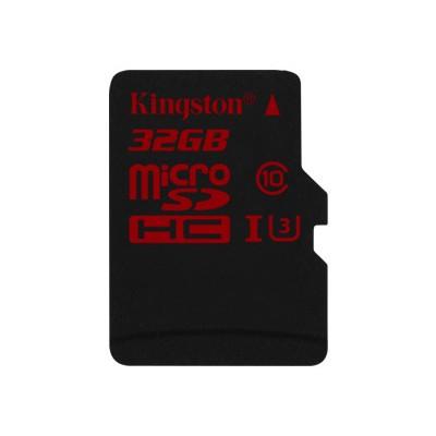 Kingston SDCA3/32GBSP 32GB microSDHC UHS-I speed class 3 Single Pack w/o Adapter