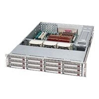 Super Micro CSE-826TQ-R800LPB Supermicro SC826 TQ-R800LPB - Rack-mountable - 2U - extended ATX - SATA/SAS - hot-swap 800 Watt - black