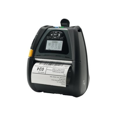 Zebra Tech QN4-AUCB0M00-00 QLn 420 - Label printer - thermal paper - Roll (4.4 in) - 203 dpi - up to 240.9 inch/min - USB 2.0  serial  Bluetooth 3.0 - tear bar