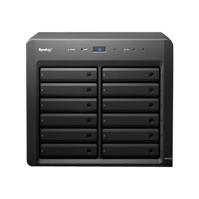 Synology DX1215 DX1215 - Hard drive array - 12 bays (SATA-600) x 0 - InfiniBand (external)