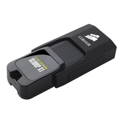 Corsair Memory CMFSL3X1-64GB Flash Voyager Slider X1 - USB flash drive - 64 GB - USB 3.0