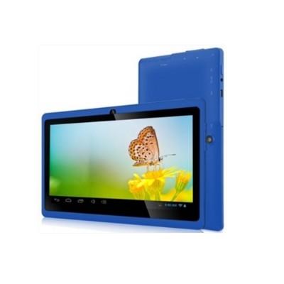 Worry Free Gadgets 7DRK-Q-BLUE Zeepad 7DRK-Q - Tablet - Android 4.4 (KitKat) - 4 GB - 7 TFT (800 x 480) - USB host - microSD slot - blue