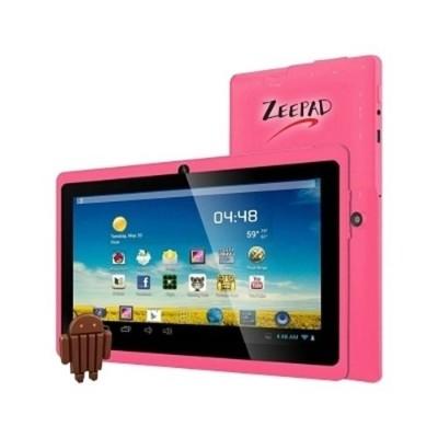Worry Free Gadgets 7DRK-Q-PINK Zeepad 7DRK-Q - Tablet - Android 4.4 (KitKat) - 4 GB - 7 TFT (800 x 480) - USB host - microSD slot - pink