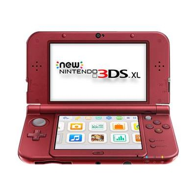 Nintendo REDSRAAA New  3DS XL - Handheld game console - red