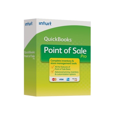 Intuit 426198 QuickBooks Point of Sale: Pro - (v. 12.0) - box pack - 1 user - Win