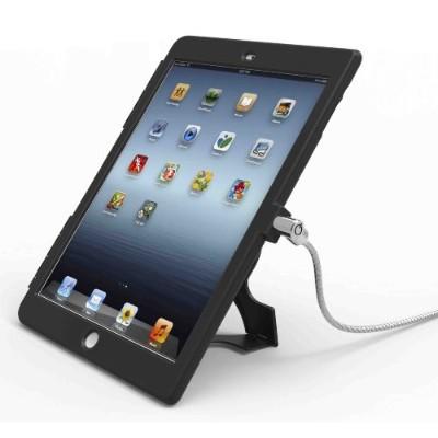 Compulocks Brands IPADAIRBB Lockable iPad Air Security Case with 6-Foot Cable - Black