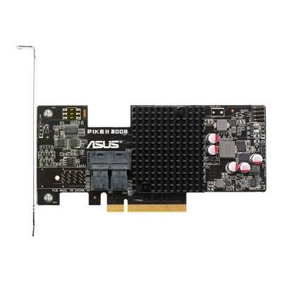 ASUS PIKE II 3008-8I PIKE II 3008-8i - Storage controller (RAID) - 8 Channel - SATA 6Gb/s / SAS 12Gb/s - 600 MBps - RAID 0  1  10  1E -  PIKE