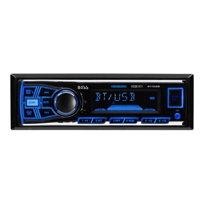 Boss Audio Systems 611UAB 611UAB - Car - digital receiver - in-dash - Full-DIN - 50 Watts x 4