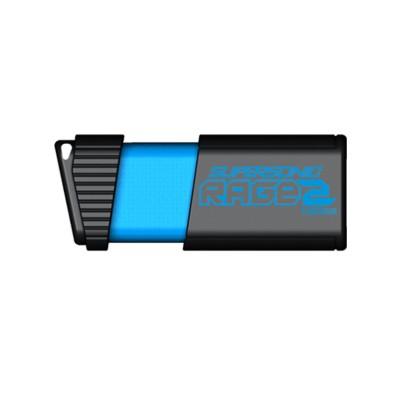 Patriot Memory PEF128GSR2USB SUPERSONIC RAGE 2 128GB USB FLASH DRIVE