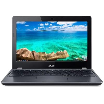 Acer NX.EF2AA.002 Chromebook C740-C4PE - Celeron 3205U / 1.5 GHz - Chrome OS - 4 GB RAM - 16 GB SSD - 11.6 1366 x 768 (HD) - HD Graphics - Wi-Fi - gray - kbd: U