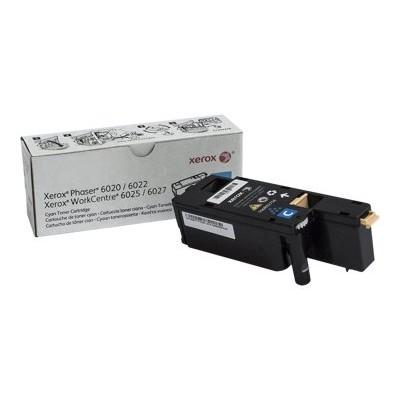 Xerox 106R02756 Cyan - original - toner cartridge - for Phaser 6020V_BI  6022/NI  6022V_NI  WorkCentre 6025V_BI  6027/NI  6027V_NI