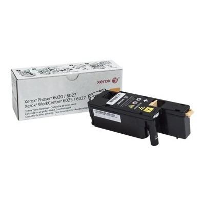Xerox 106R02758 Yellow - original - toner cartridge - for Phaser 6020V_BI  6022/NI  6022V_NI  WorkCentre 6025V_BI  6027/NI  6027V_NI