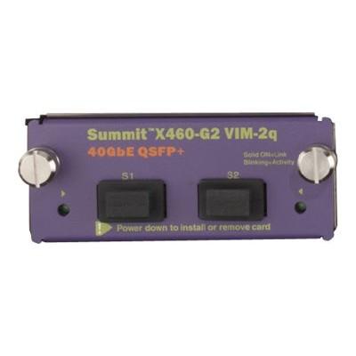 Extreme Network 16710 Summit X460 G2 Series VIM 2q Expansion module 40 Gigabit LAN 40GBase X