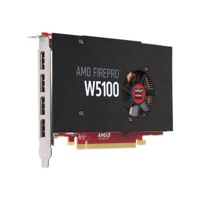 HP Inc. J3G92AT Smart Buy AMD FirePro W5100 4GB Graphics Card