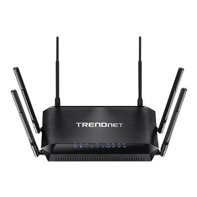 TRENDnet TEW-828DRU TEW-828DRU - Wireless router - 4-port switch - GigE - 802.11a/b/g/n/ac - Dual Band