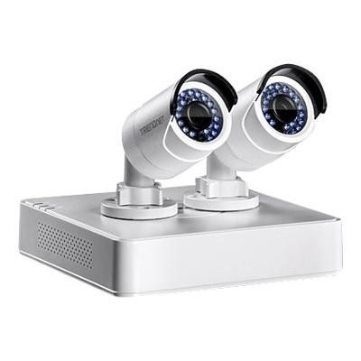 TRENDnet TV-NVR104K TV-NVR104K - DVR + camera(s) - 4 channels - 1 x 1 TB - 2 camera(s) - CMOS