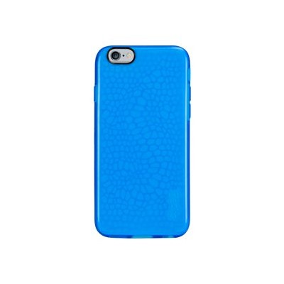 Gecko Gear GG800342 Glow - Back cover for cell phone - thermoplastic polyurethane - translucent glow blue - for Apple iPhone 6s & 6