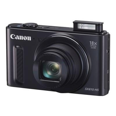 Canon 0111C001 PowerShot SX610 HS - Digital camera - High Definition - compact - 20.2 MP - 18 x optical zoom - Wi-Fi NFC - black