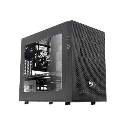 ThermalTake CA-1D6-00S1WN-00 Core X1 - Cube - mini ITX - no power supply (PS/2) - black - USB/Audio