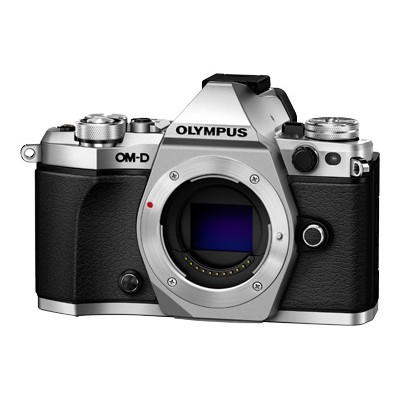 Olympus V207040SU000 OM-D E-M5 Mark II - Digital camera - mirrorless - 16.1 MP - body only - Wi-Fi - silver