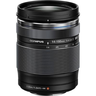 Olympus V316020BU000 M.Zuiko Digital - Zoom lens - 14 mm - 150 mm - f/4.0-5.6 ED II - Micro Four Thirds - for OM-D E-M1  E-M10  EM-5  E-M5  PEN E-P5  E-PL1s  E-