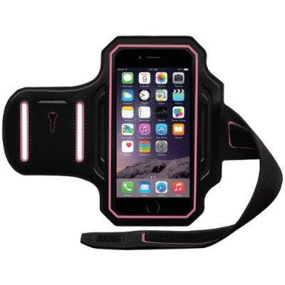 Fellowes 9487801 Endurance Armband for iPhone 6s & 6s & 6 - Black\/Pink