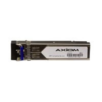 Axiom Memory AXG94414 SFP (mini-GBIC) transceiver module (equivalent to: Avaya/Nortel AA1419069-E6) - Gigabit Ethernet - 100Base-BX-U - LC single-mode - up to 6