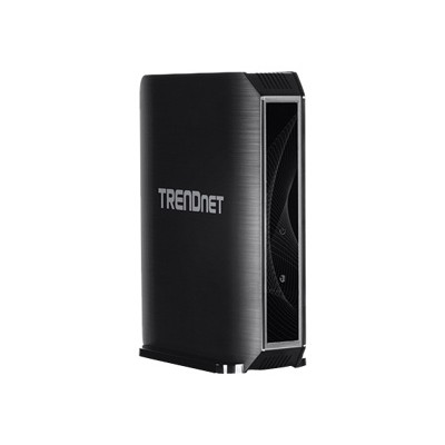 TRENDnet TEW-823DRU TEW-823DRU - Wireless router - 4-port switch - GigE  802.11ac (draft 2.0) - 802.11a/b/g/n/ac (draft 2.0) - Dual Band