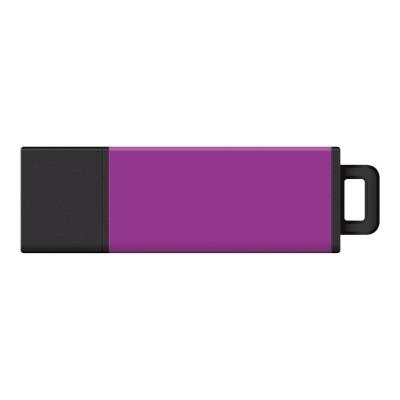 Centon S1-U2T12-16G DataStick Pro 2 - USB flash drive - 16 GB - USB 2.0 - purple