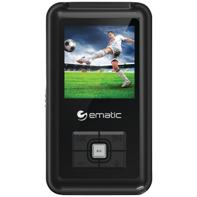 e-matic EM208VIDBL 8GB 1.5 MP3 Video Player