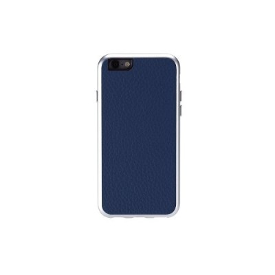 Special Offer Just Mobile Direct AF-168BL AluFrame Leather for iPhone 6s & 6 – Blue Before Special Offer Ends